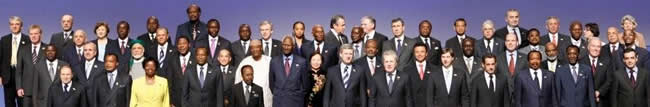 Francophonie : Photo de famille officielle